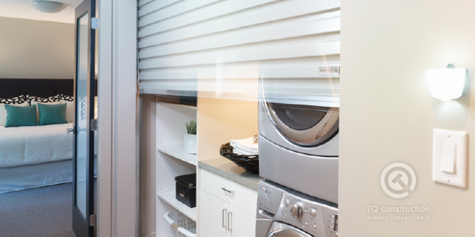 TQ Construction | Motorized Laundry Door