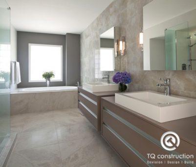 TQ Construction Kitchen Renovation with Apron Sink
