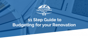 11 step guide to budgeting for your renovation