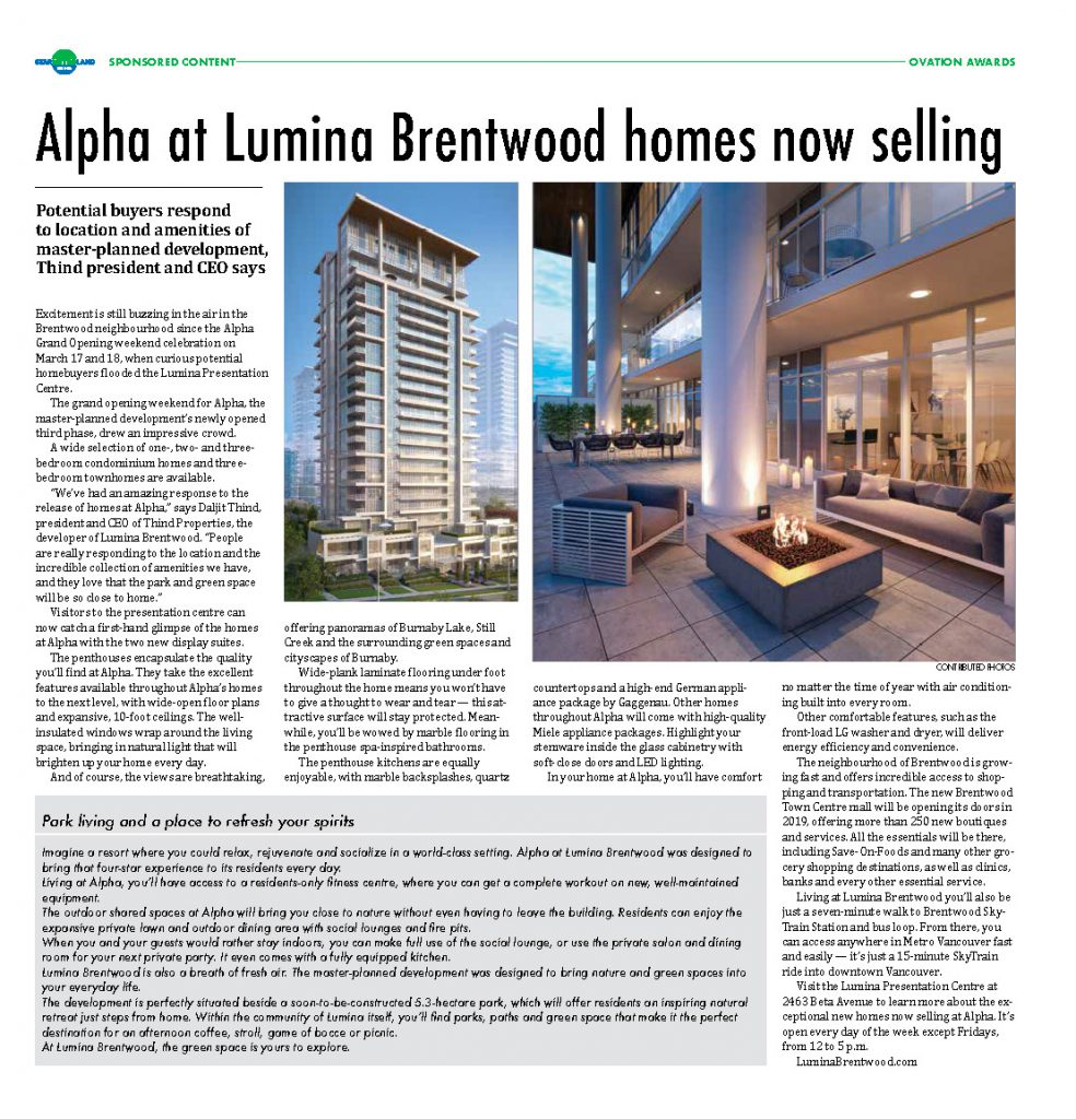 Alpha at Lumina Brentwood homes now selling