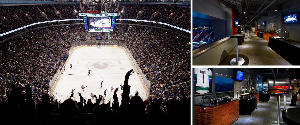 Vancouver Canucks Rogers Suite