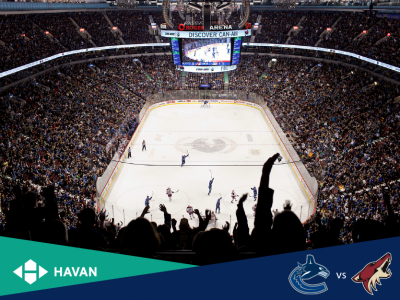 HAVAN and Vancouver Canucks Game