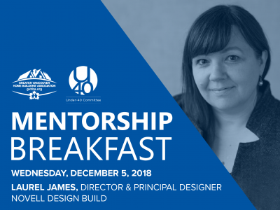 GVHBA mentorship breakfast event