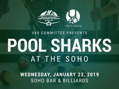 GVHBA Pool Sharks event at the Soho Bar & Billiards