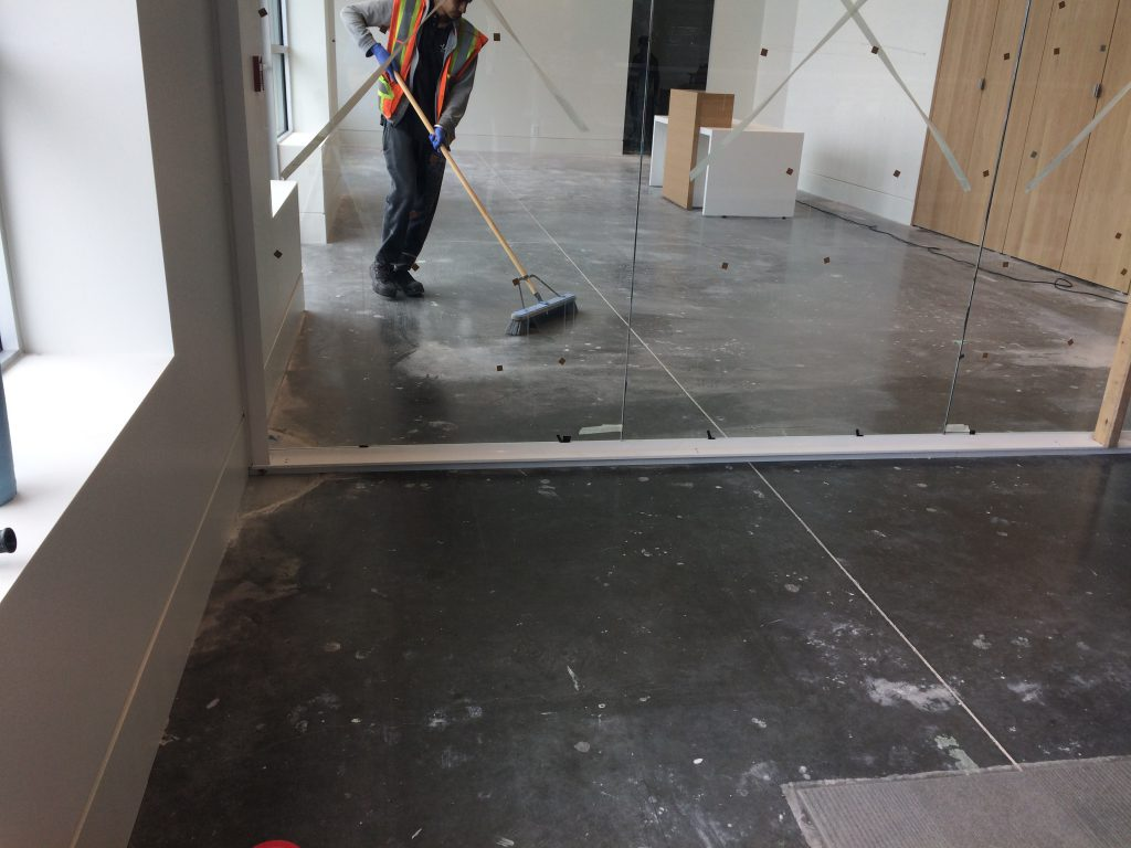 Cleaning Post Construction