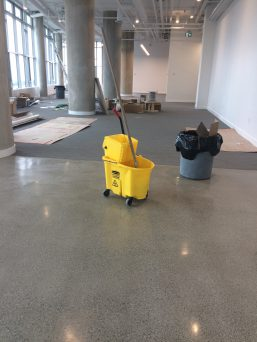 Cleaning Construction