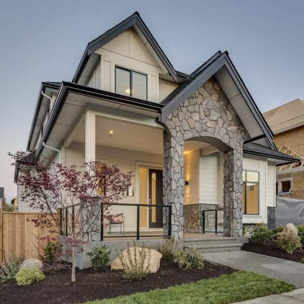 single family custom home