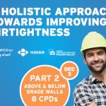 A Holistic Approach Towards Improving Airtightness