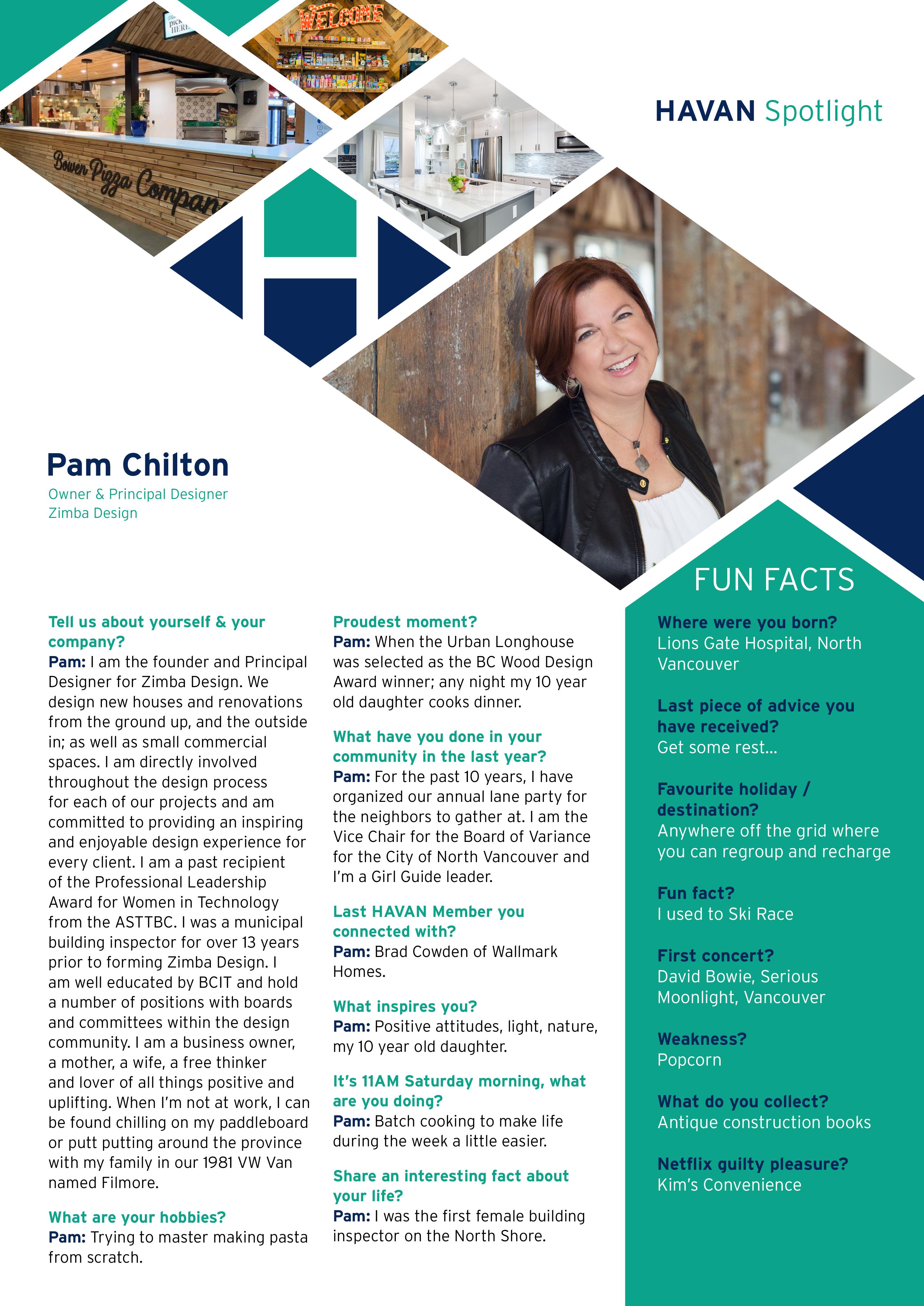Pam Chilton Zimba Designs
