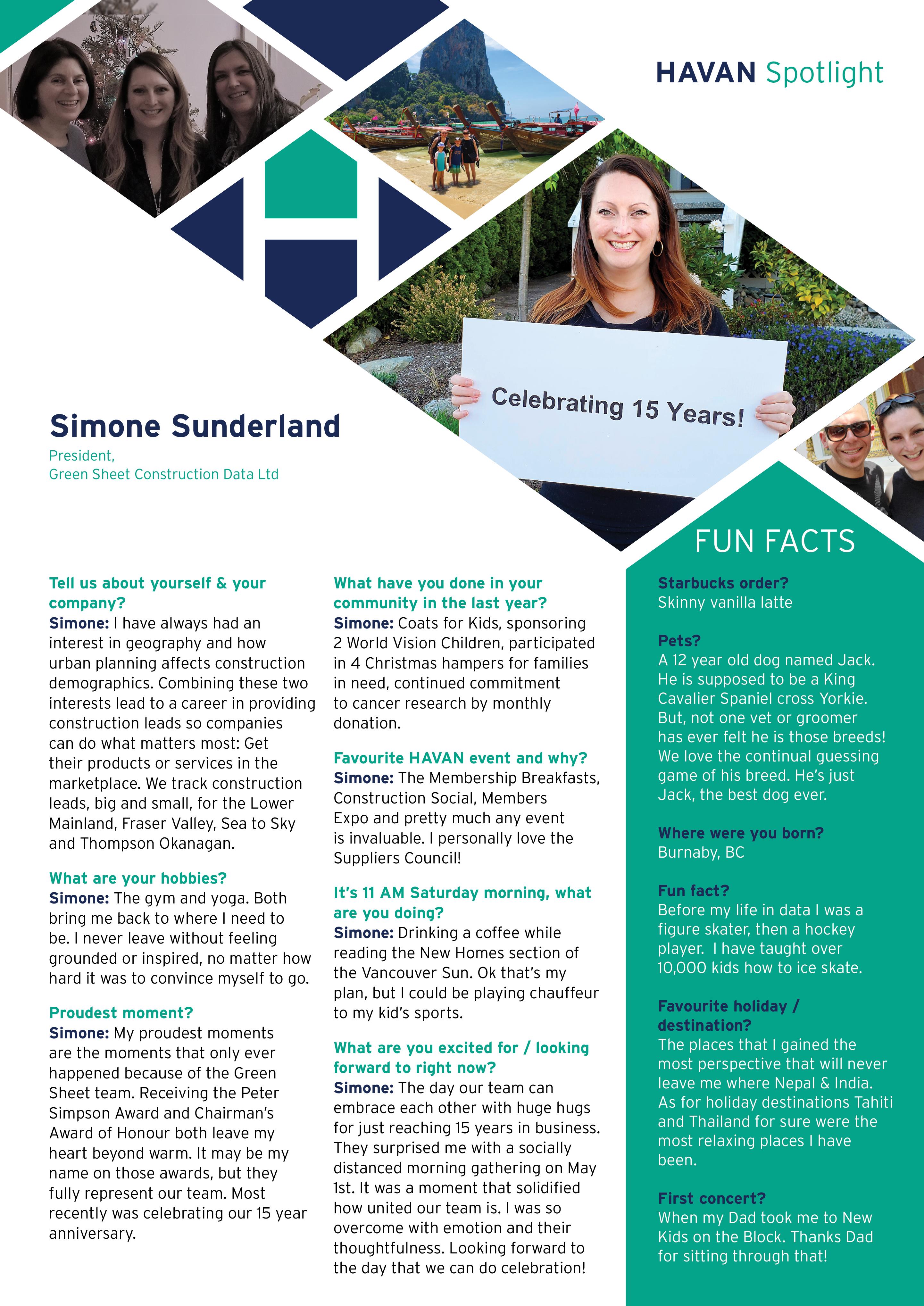 Simone Sunderland