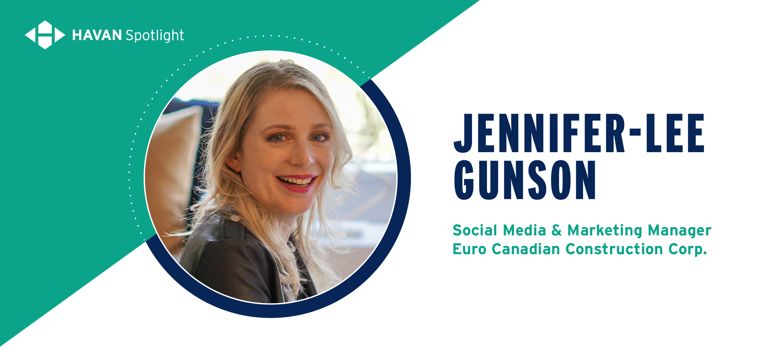 Jennifer-Lee Gunson Euro Canadian