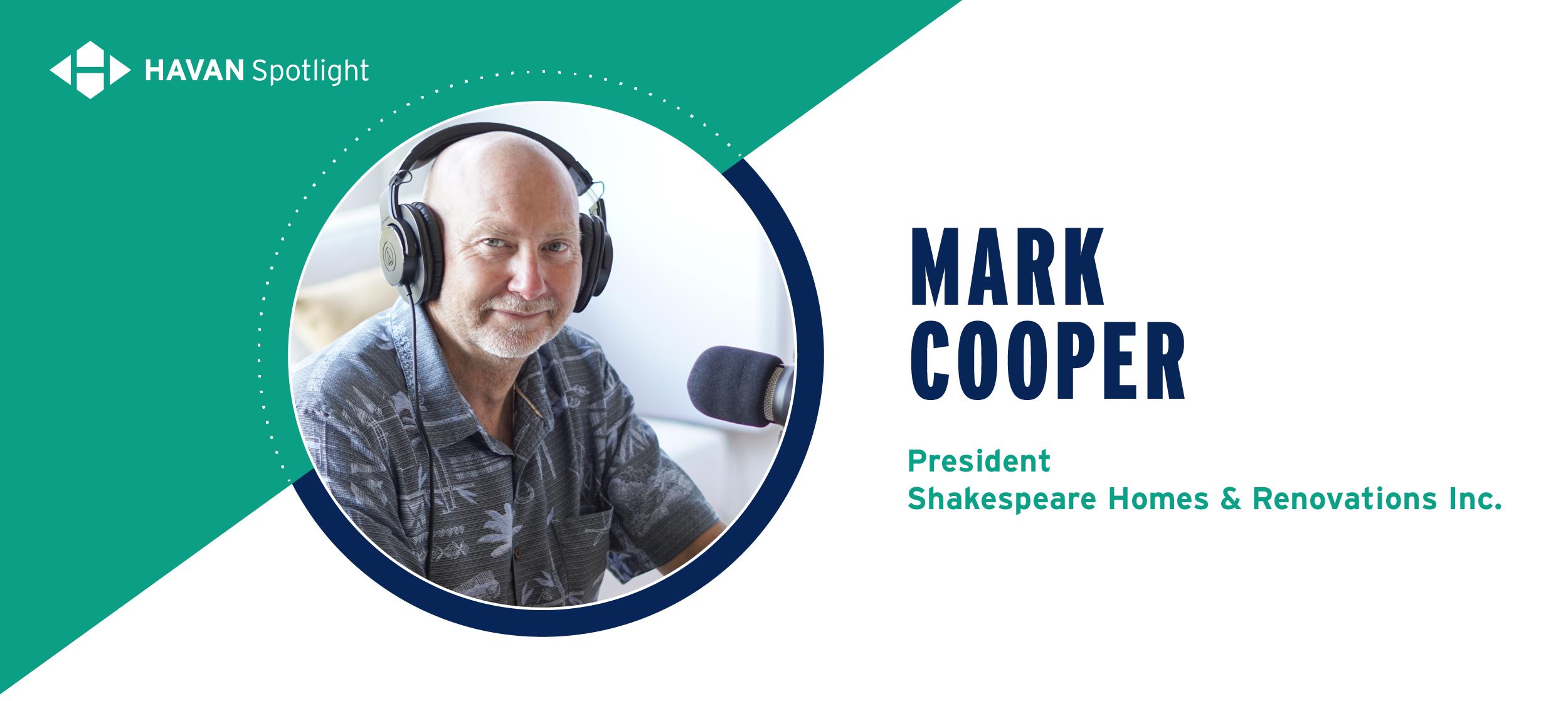 Mark Cooper Shakespeare Homes
