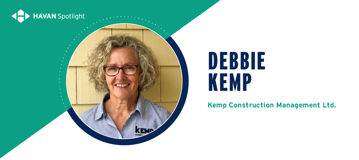 Debbie Kemp, Kemp Cosntruction